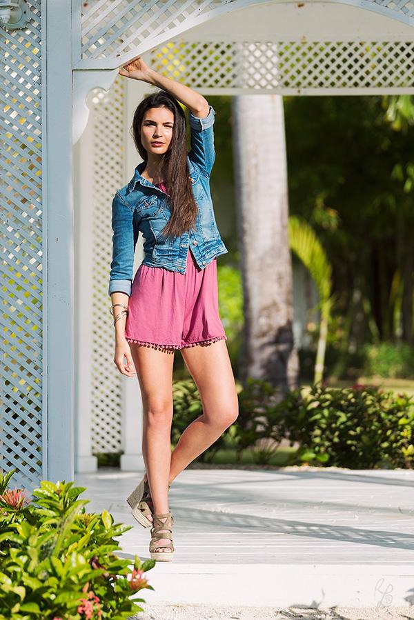 Fashionmodel Rosa L
